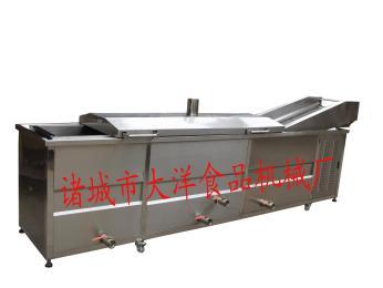 DY供应网带式油炸|批发食品油炸专用成套机械|小型全自动油炸锅