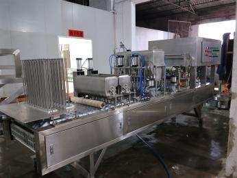 CFD-20全自动果冻(方杯)灌装封口机