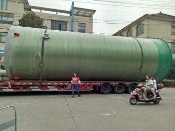 呼和浩特大排量一體化預制泵站
