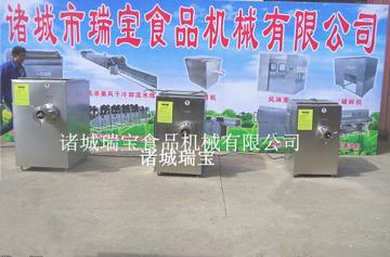 瑞宝 JR-120大型冻肉盘绞肉机