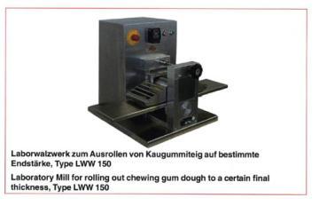 德國制造口香糖實驗室研發設備