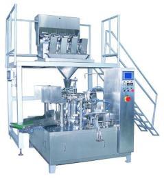 精威定量称重包装机 糖果颗粒包装机