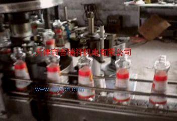 香油瓶贴标机(浆糊)