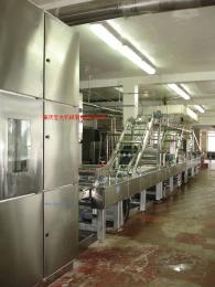 威化餅生產線-冷柜