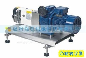 衛生級凸輪轉子泵