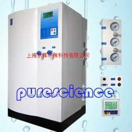 LP-DR05 实验室台上式自来水进水双级RO反渗透去离子型纯水机(1-5μs)