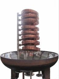 浮動盤管熱交換器 DFHRV導流型半容積式浮動盤管換熱器