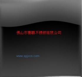 黑色不銹鋼板