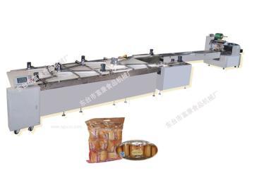 自动理料包装生产线 面包包装机