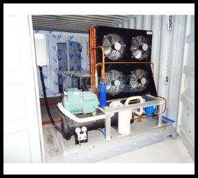 集装箱式制冰机、冷库