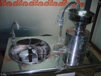 50型防溢磨煮一体不锈钢豆浆机