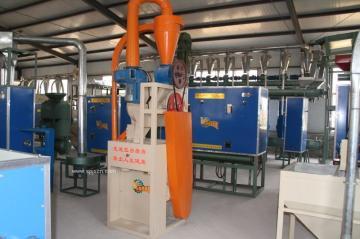 高效不锈钢五谷杂粮制粉机/有机杂粮磨粉机组