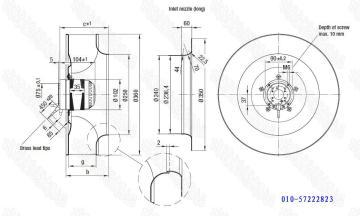 R4E355-AK05-05 ebmpapst离心风机