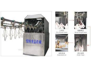 悬挂式油炸流水线 产品图片