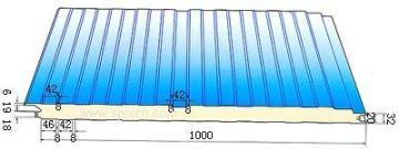 聚氨酯建筑板丨聚氨酯夹芯板丨聚氨酯保温板丨冷库门-北京华都茂华