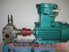 YCB不锈钢圆弧齿轮泵,不锈钢圆弧齿轮泵,圆弧齿轮泵