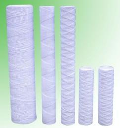 脫脂棉線繞濾芯,PP線繞濾芯,玻璃纖維線繞濾芯