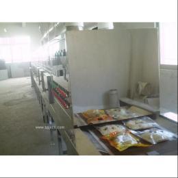 高效微波豆瓣醬殺菌設備,微波包裝制品殺菌機