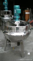 不锈钢立式电加热搅拌夹层锅 无级变频调速夹层锅