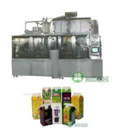供应果汁纸盒灌装机