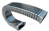 昆山胜达机床附件 钢板导轨防护罩 钢铝拖链 风琴导轨防护罩