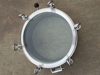 卫生级圆形一体式视镜人孔