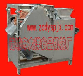 蠶豆加工設備 花生米油炸設備 蠶豆切口機