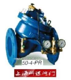 多若特500系列可调式减压阀 DOROT水力自控阀门 50-4-PR减压阀