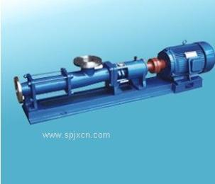 压滤机螺杆泵