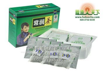 袋泡茶代加工-全松袋泡茶加工-广州褔道天下袋泡茶加工厂