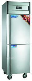 康庭冷柜/双温直冷冷柜/商用冷柜/餐厅厨房冷柜/食物保鲜冷柜