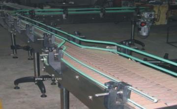 塑钢链板输送机