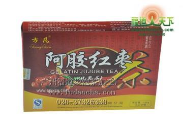 廣東袋泡茶加工-廣州褔道天下袋泡茶加工-阿膠紅棗袋泡茶加工