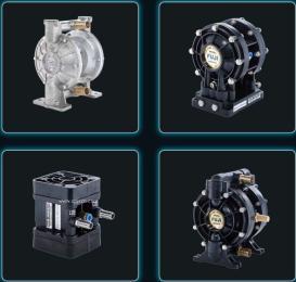 氣動雙隔膜泵UDP5TS