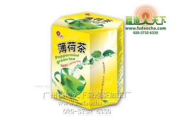 广州袋泡茶代加工-薄荷茶袋泡茶加工-广州褔道天下袋泡茶加工