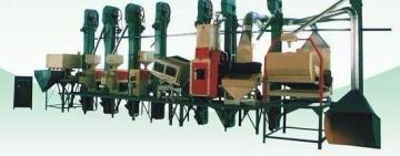 大型碾米加工组合设备