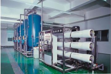 供应天津15t/h双级反渗透纯净水设备 天津水处理设备厂家