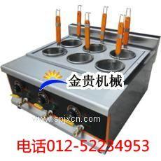 臺式六頭麻辣燙機hhb煮面爐