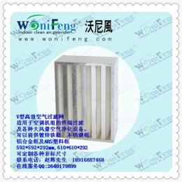 V-bank型空氣過濾器