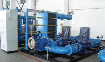 集中供暖換熱成套機組