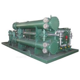 供应润滑油油站双联管式换热器 换热器机组