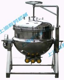 开盖式可倾斜电加热蒸煮锅
