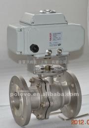 Q941F法兰式电动不锈钢球阀