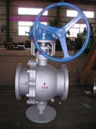 Q41H-16C、Q41H-25C、Q41H-40C碳鋼硬密封法蘭球閥