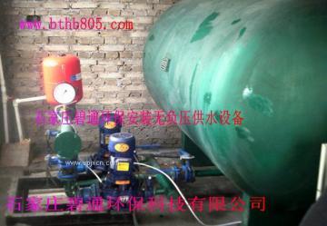 石家庄管网叠压二次供水设备-无负压供水设备