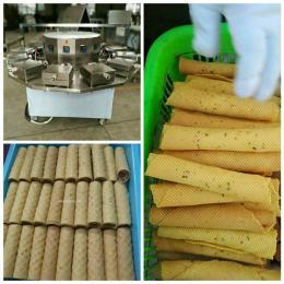 10模香酥蛋卷机厂家价格图片报价免费技术赠送