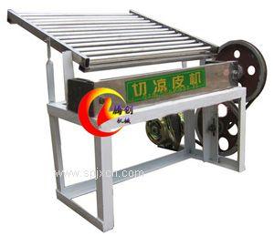 全自動切涼皮機|切米皮機|電動涼皮切條機代替手工切涼皮產量大