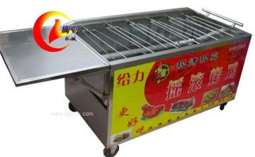 全自动旋转烤鸡炉|木炭摇滚烤鸡炉|越南摇滚烤鸡炉