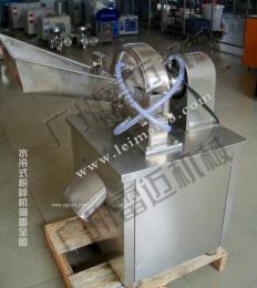 工厂用中药材粉碎机、纤维水冷锤式粉碎机