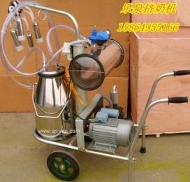單桶真空脈動式奶牛羊擠奶機